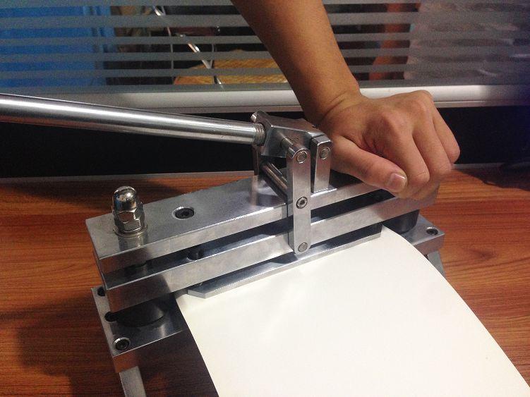 Paper Sample Cut