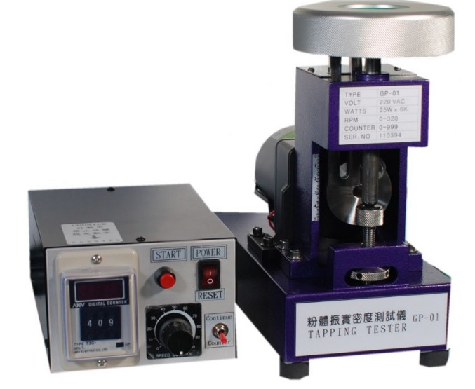 Tap Density Test Device
