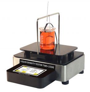 Liquid density tester